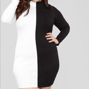 Fashion Nova Plus Sized Dress